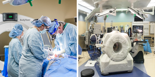 Neurosurgery with BodyTom® Elite and OmniTom®