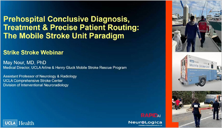 Strike Stroke – Prehospital Conclusive Diagnosis, Treatment & Precise Patient Routing