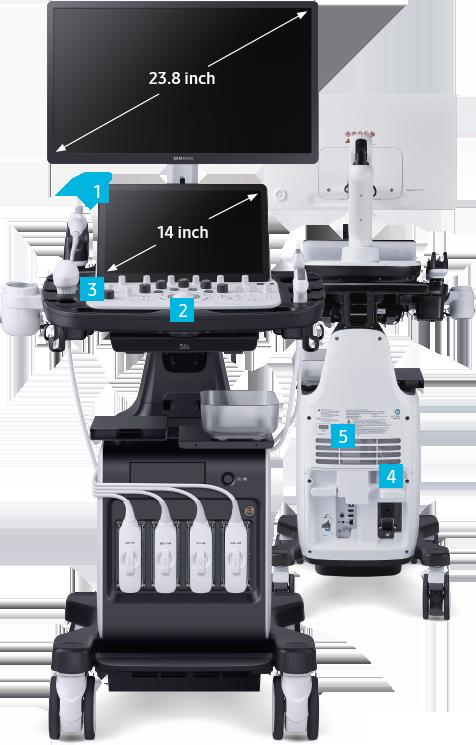 V8 ultrasound system